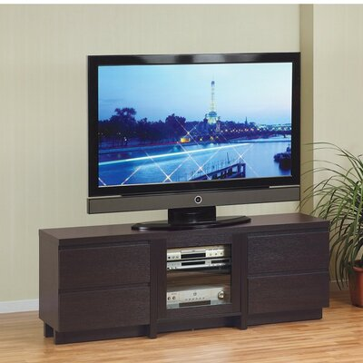 Ducan Modern Style 60 TV Stand with 4 Drawers
