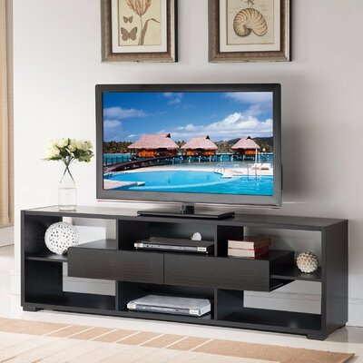 Dudek Elegant 70.75 TV Stand with Shelves And Drawers