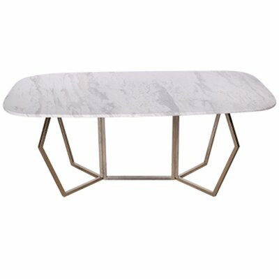 Chancery Ultra-Modern Marble Coffee Table