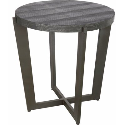 Victoria End Table Color: Gray