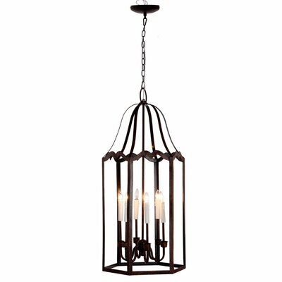 Chantry Alluringly 6-Light Candle-Style Chandelier