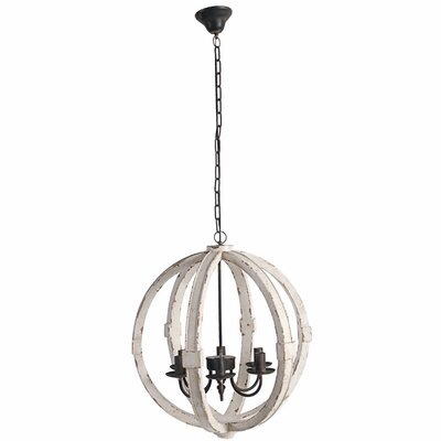 Barbazan Elegantly 6-Light Candle Style Chandelier