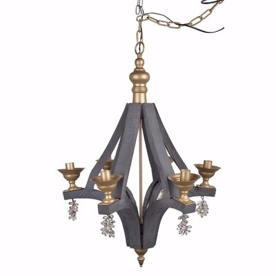Christofer Artfully 6-Light Mini Chandelier