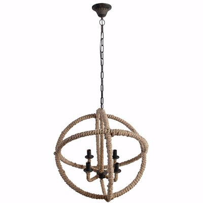 Alaya 4-Light Mini Chandelier