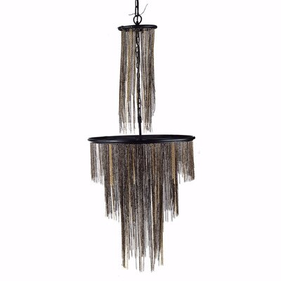Charleson Chic and Modish 1-Light Mini Chandelier