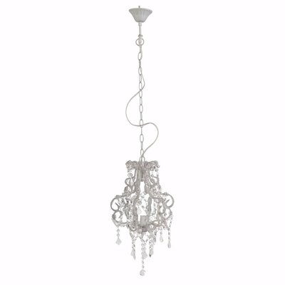 Ethel 1-Light Crystal Pendant