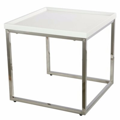 Benziger Compactly Striking End Table
