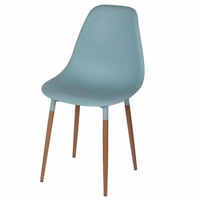 Weidman Refined Side Chair Upholstery: Blue