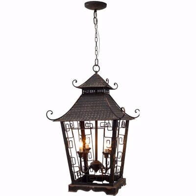 Ellsworth 4-Light Foyer/Lantern Pendant