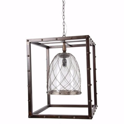Freman Elegantly Intriguing 1-Light Mini Pendant Size: 24 H x 19.5 W x 19.5 D