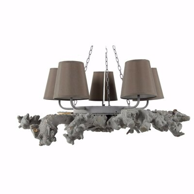 Coulibaly Attractive 5-Light Mini Chandelier