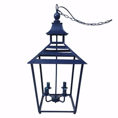 Cliffland Lantern Styled 4-Light Mini Chandelier