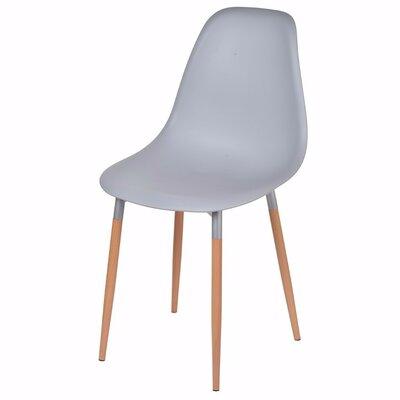 Weidman Refined Side Chair Upholstery: Gray