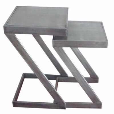 Pisano 2 Piece Nesting Table Set