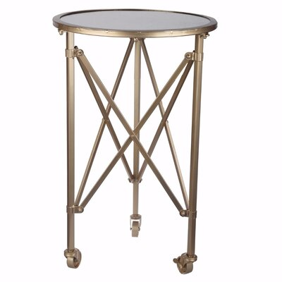 Seitz Stunningly Trimmed End Table