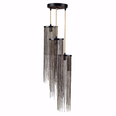 Cheshire Supremely Stylish 3-Light Cluster Pendant