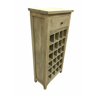 Irvings Classy Cabinet 1 Drawer Floor Wine Rack