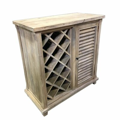 Irvings Durable Wooden Floor Wine Rack
