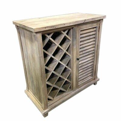 Irvings Durable Wooden Floor Wine Rack
