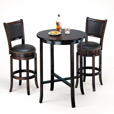 Courtdale Pub table Color: Black