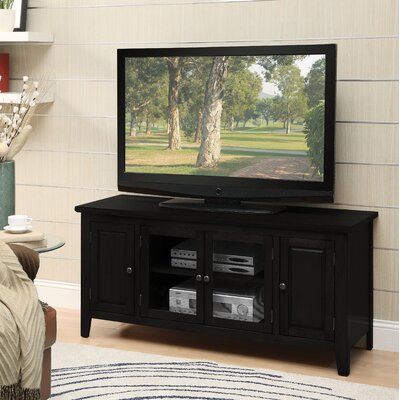 Rajan 55 TV Stand Color: Black