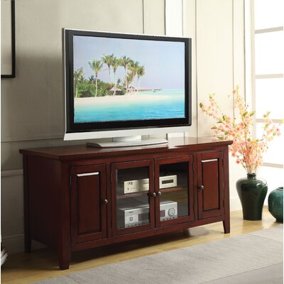 Rajan 55 TV Stand Color: Cherry