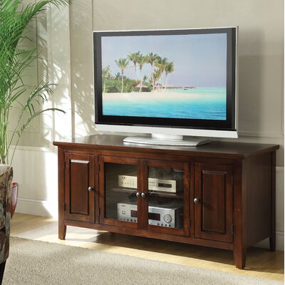 Rajan 55 TV Stand Color: Chocolate