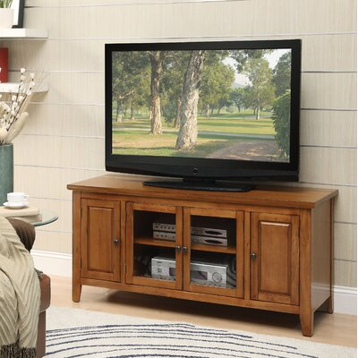 Rajan 55 TV Stand Color: Oak