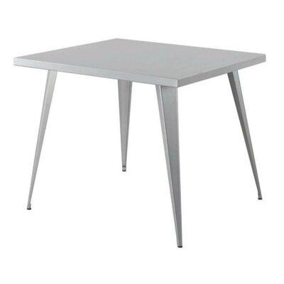Mccrea Square Metal Counter Height Pub Table