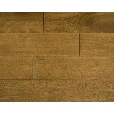 Auburn 4.75 x 7 Smooth Hardwood Flooring in Maple