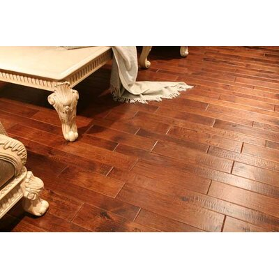 Marquis 7 x 7 Hand Scraped Hardwood Flooring in Hickory