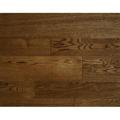 Oberlin 3.5 x 7 Smooth Hardwood Flooring in Oak