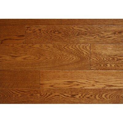 Jamestown 7 x 7 Smooth Hardwood Flooring in Oak