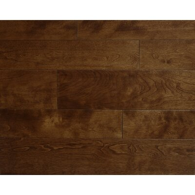 Stanford 3.5 x 7 Smooth Hardwood Flooring in Maple
