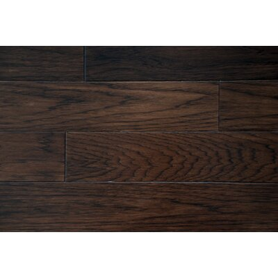 Oliver 5 x 7 Smooth Hardwood Flooring in Hickory