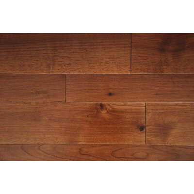 Somerset 3.5 x 7 Smooth Hardwood Flooring in Walnut