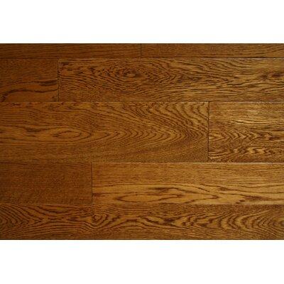 Jamestown 3.5 x 7 Smooth Hardwood Flooring in Oak
