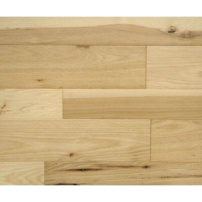 Harvard 7 x 7 Smooth Hardwood Flooring in Hickory