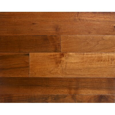 Arlington 3.5 x 7 Smooth Hardwood Flooring in Walnut