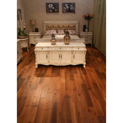 Montage 5 Hardwood Flooring in Walnut