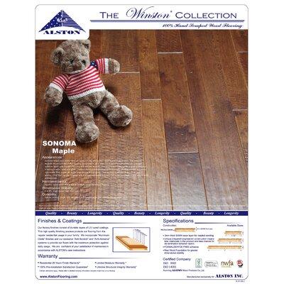Sonoma 7 Hardwood Flooring in Maple