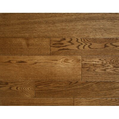Oberlin 7 x 7 Smooth Hardwood Flooring in Oak
