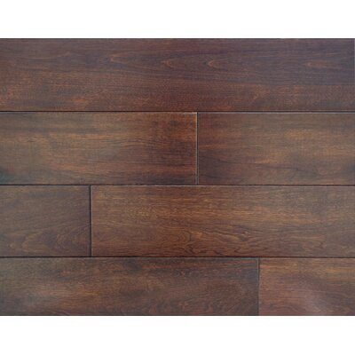 Harrington 3.5 x 7 Smooth Hardwood Flooring in Maple
