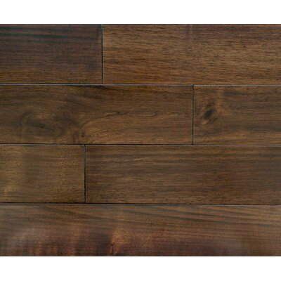 Winchester 7 x 7 Smooth Hardwood Flooring in Walnut