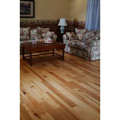 Natural 3.5 Hardwood Flooring in Walnut