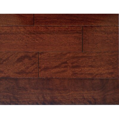 Royal 5 x 7 Smooth Hardwood Flooring in Mahogany