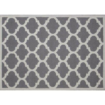 Aroa Cupola Hand-Tufted Gray Area Rug Rug Size: 5 x 7