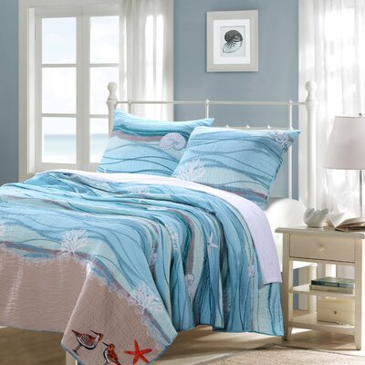 Ansley Reversible Quilt Set Size: King
