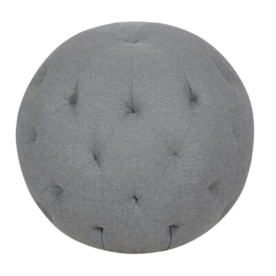 Balloon Ottoman Upholstery Color: Depalma Granite