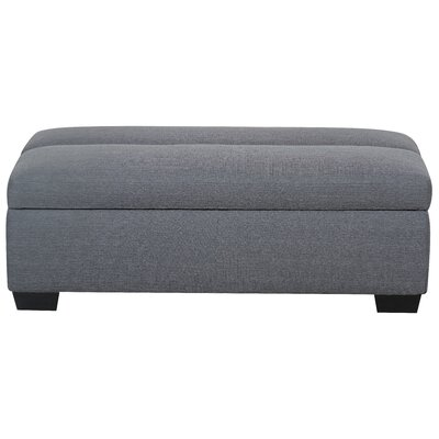 Saito Sleeper Ottoman Upholstery Color: Depalma Charcoal